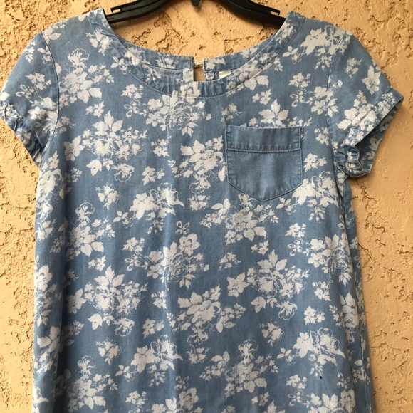 Cherokee Other - BLUE BEAUTIFUL FLOWERY TOP